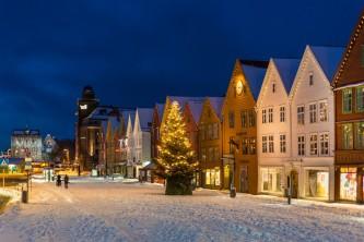 Weihnachtliches Bergen, Copyright: Bergen Tourist Board / Robin Strand - visitBergen.com http://www.visitnorway.com