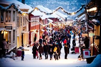 Weihnachtsmarkt Røros, Copyright: Thomas Rasmus Skaug - http://www.visitnorway.com